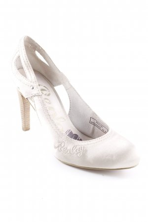 Replay Peeptoe Pumps hellbeige Casual-Look