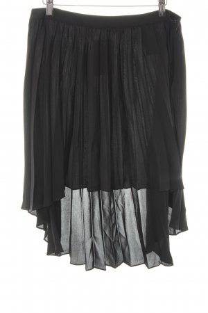 Replay Pleated Skirt black elegant