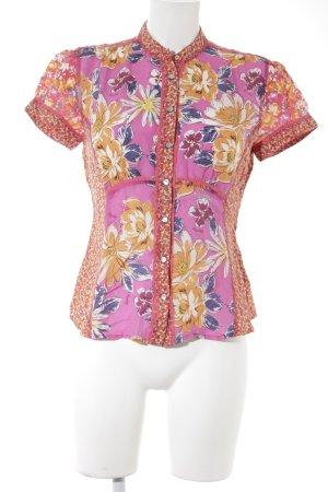 Replay Print-Shirt florales Muster extravaganter Stil