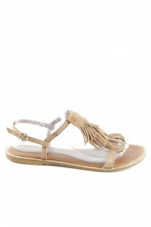 Replay Riemchen-Sandalen braun Casual-Look