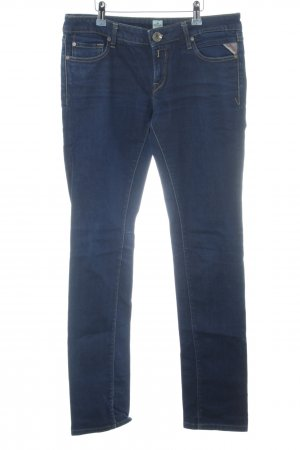 Replay Tube Jeans blue-dark blue color gradient jeans look