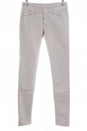 Replay Jeans cigarette gris clair Aspect de jeans