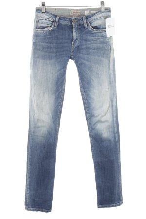 Replay Jeans cigarette bleuet-bleu azur tissu mixte