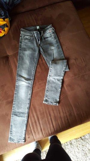 REPLAY Rose Jeans grau