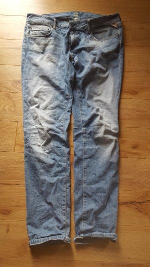 replay rose jeans hellblau