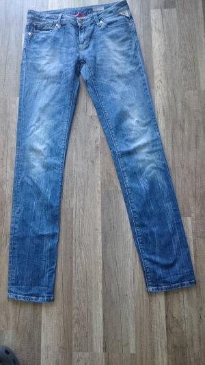 Replay Jeans skinny bleu