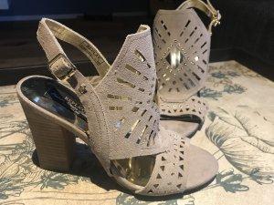Replay Sandalo con cinturino grigio chiaro-grigio Pelle