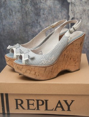 REPLAY ~ SANDALEN WEDGES ~ SIZE 36