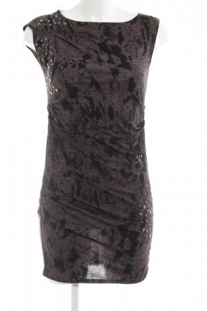 Replay Tube Dress grey brown-black casual look