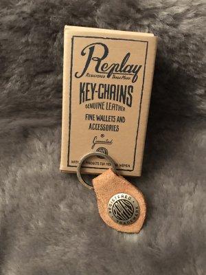 REPLAY Schlüsselanhänger * NEU * mit Etikett