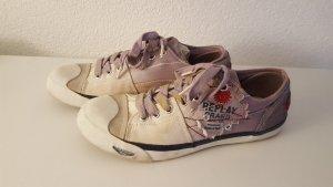 Replay Schnürschuhe Sneaker Chucks used Look Größe 40 NEU