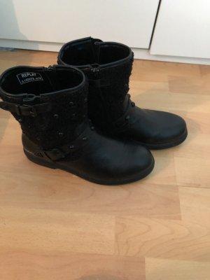 Replay Combat Boots black
