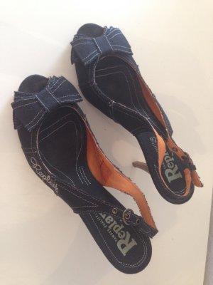 Replay Schuhe Jeansstoff, Größe 39