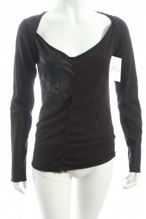 Replay Shirt schwarz Casual-Look