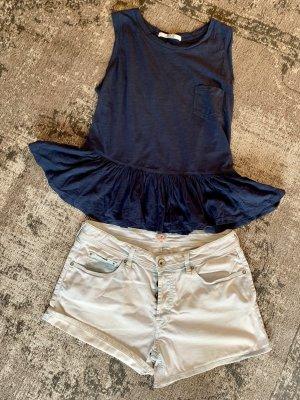 Replay Shorts azzurro