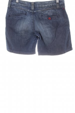 Replay Shorts blau meliert Casual-Look