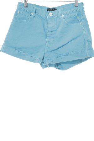 Replay Shorts hellblau Street-Fashion-Look