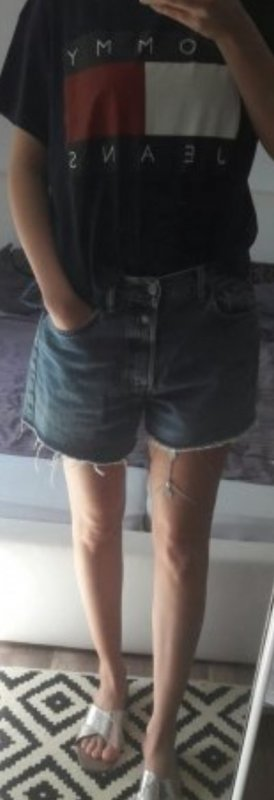 Replay Shorts Jeans Jeansshorts Denim Cut off Loose fit Boyfriend Oversize