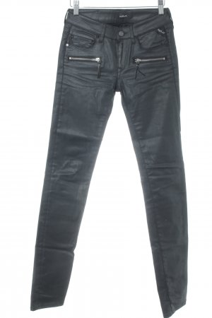 Replay Skinny Jeans anthrazit Casual-Look