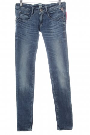 Replay Jeans skinny bleu style décontracté