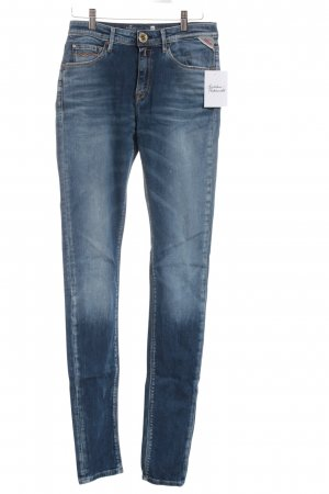 Replay Skinny Jeans blau Casual-Look