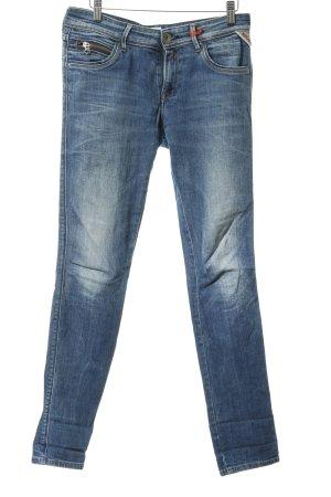 Replay Jeans skinny bleu Boutons métalliques