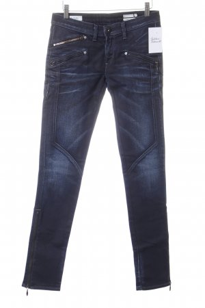 Replay Skinny Jeans dunkelblau Casual-Look