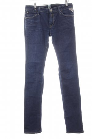Replay Skinny Jeans dunkelblau Casual-Look