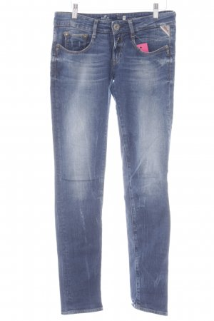 Replay Skinny Jeans dunkelblau Jeans-Optik
