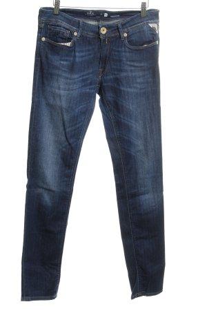Replay Skinny Jeans dunkelblau Jeans-Optik