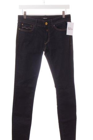Replay Skinny Jeans dunkelblau klassischer Stil