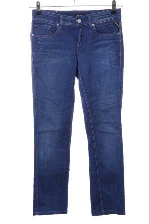 Replay Skinny Jeans blau Business-Look