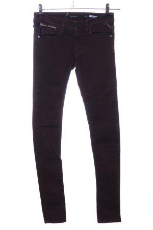 Replay Skinny Jeans schwarz Business-Look