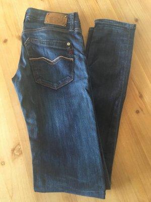 Replay Skinny Jeans Gr. 25/32, blau - wie neu!