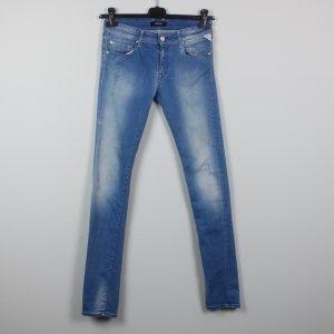 Replay Vaquero skinny azul claro-azul pálido Algodón