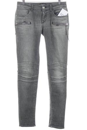 Replay Skinny Jeans grau Casual-Look