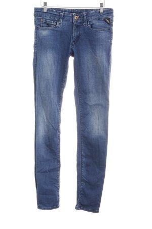 Replay Skinny Jeans graublau-blassblau Casual-Look