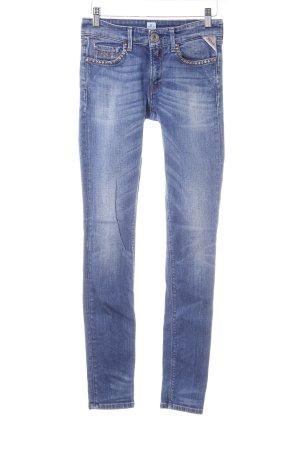 Replay Jeans skinny grigio ardesia-blu pallido stile jeans