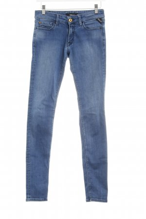 Replay Skinny Jeans graublau-blassblau Jeans-Optik