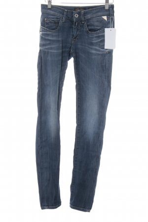 Replay Skinny Jeans kornblumenblau Casual-Look