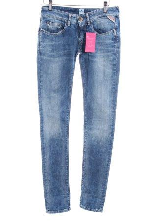 Replay Skinny Jeans kornblumenblau Casual-Look