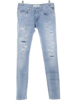 """Replay Skinny Jeans """"LUZ"""" blau"""