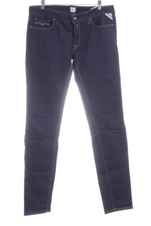 """Replay Skinny Jeans """"Luz"""" dunkelblau"""