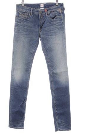 Replay Jeans skinny multicolore lavaggio acido