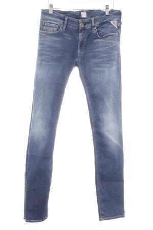 Replay Skinny Jeans mehrfarbig schlichter Stil