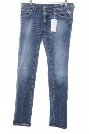 Replay Skinny Jeans stahlblau Casual-Look