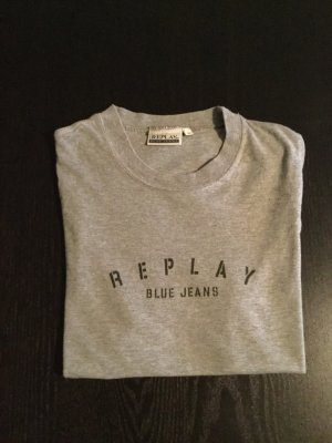 Replay Skinny Shirt grey