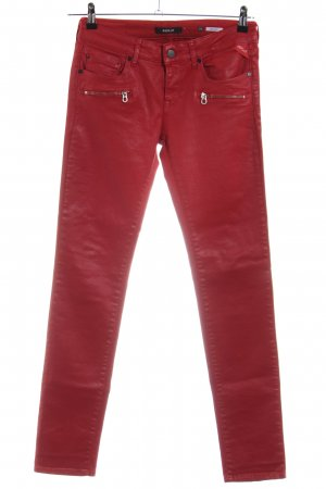 Replay Slim Jeans red casual look