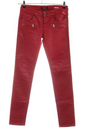 Replay Jeans slim rouge style décontracté