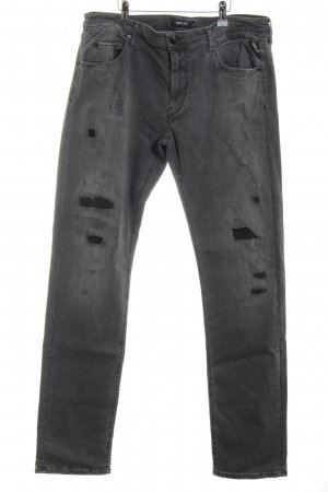 Replay Slim Jeans light grey casual look